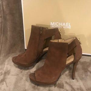 Michael Michael Kors Mira open toe leather